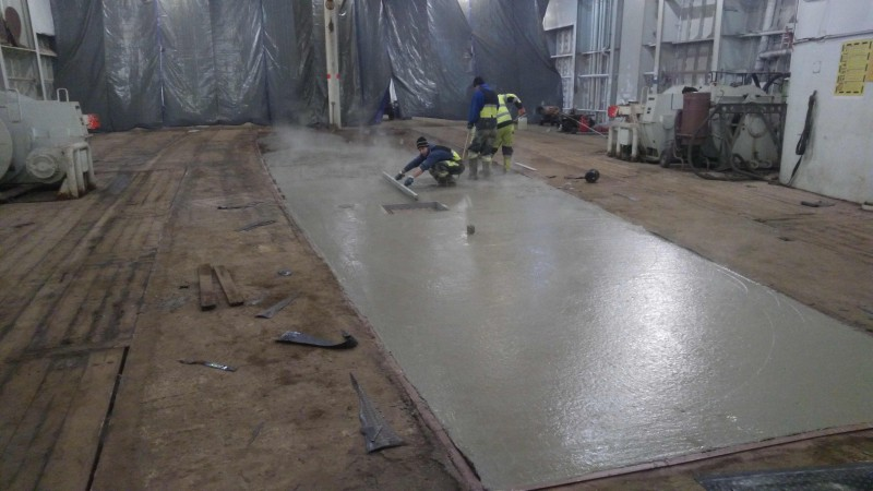 Beton Floor staleks construction projects